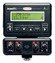 Компьютер BRAVO-180S для садового опрыскивателя