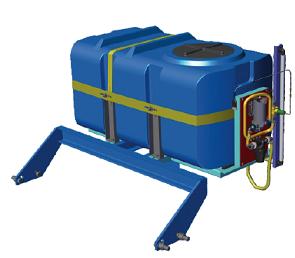 Оборудование для внесения консервантов в силосную массу Ремком