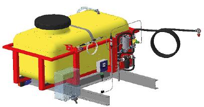 Оборудование для внесения консервантов Ремком